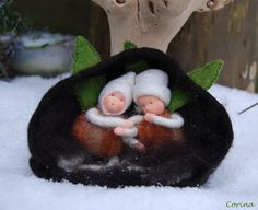 Viltcreaties Corina: Slaap wortel slaap!