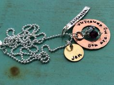 You Are My Sunshine Necklace by TBSoulSisters on Etsy, $55.00