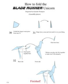 Bladerunner unicorn