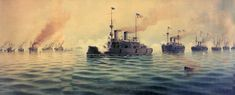 The Battle of Manila Bay took place on 1 May 1898, during the Spanish-American War. Description from quazoo.com. I searched for this on bing.com/images