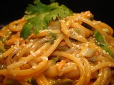 Cold Thai Noodle Salad.  Tried this - it's easy and ADDICTIVE!!! LOVE IT