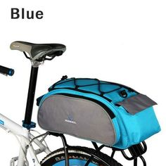 Roswhell Bicycle Pannier Basket Bag