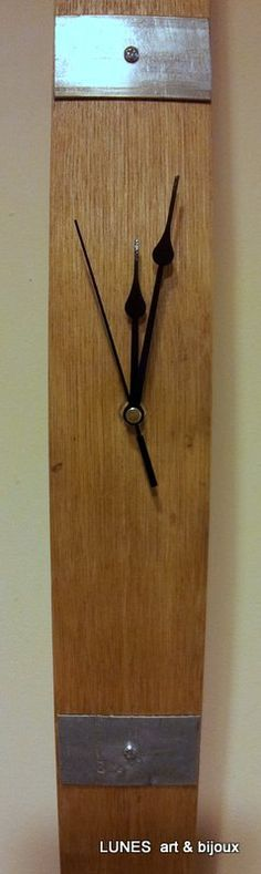 Creative Wine Barrel Art Wine Stave Clock Art by Lunes on Etsy, €55.00