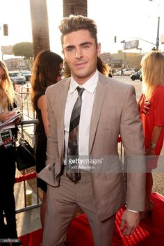 Actor Zac Efron attends the premiere of 20th Century Fox's 'Mike and Dave Need Wedding Dates' at ArcLight Cinemas Cinerama Dome on June 29, 2016 in Los Angeles, California.