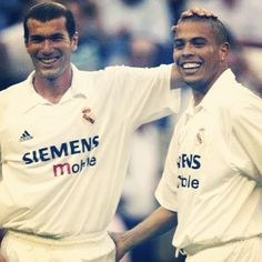 Ronaldo and Zidane  Real Madrid