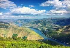 Amazing #view over the #rioduero #douroriver #douro #portugal by joanneoosterlee