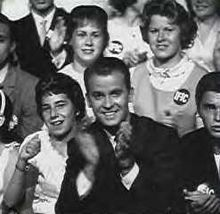 American Bandstand...I watched this obsessively!  Why wasn't I born in Philadelphia?  Sense a pattern here?
