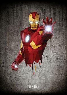 Avengers Poster Art by William Teal Avengers Poster, Iron Man Avengers, Thor, Marvel Heroes, Marvel Avengers, Stark Tower, Iron Man Art, Iron Man Wallpaper, Polygon Art