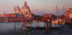 "Saatchi Art Artist Alexey Chernigin; Painting, ""Evening in Venice"" #art"