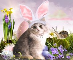 One Stop Solution For Happy Easter Images 2020 Easter Wallpaper, Kitty Wallpaper, Easter Cats, Easter Bunny, Funny Easter Memes, Easter Egg Pictures, Happy Easter Quotes, Easter Wishes, Spring Crafts For Kids