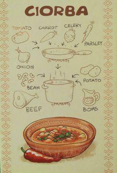 Ciorba - Romanian and Moldova dish served for main course. Romania Food, Comidas Fitness, Soup Recipes, Cooking Recipes, Hungarian Recipes, Romanian Recipes, Sour Soup, Good Food, Yummy Food