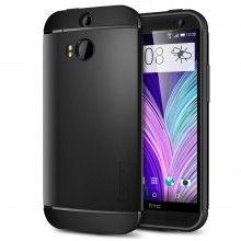 Cover HTC One M8 Spigen SGP Armor Series Slim Schwarz  19,99 €