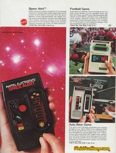 Toys & Hobbies Frank Vintage 1981 Mattel Electronics Star Hawk Space Combat Handheld Game Firm In Structure 1970-1989