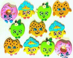 Shopkins Inspired Cookies