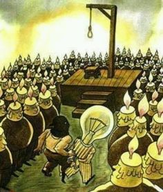 What society does to independent, freethinkers that dare to go against the grain…