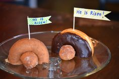 Awesome! Great reason to eat donuts on Easter morning:)