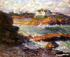 Walt Kuhn (American, 1877-1949), Island House, Ogunquit