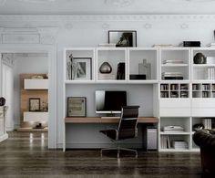 Scrivania A Scomparsa Con Libreria : Scrivania con libreria home escritorios comedores