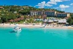 Sandals Grande Antigua Beach - Reviews for reference, upcoming 2014 vacation.