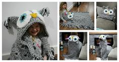 Here's the link to the tutorial >> DIY Bulky and Quick Hooded Owl Blanket <<…