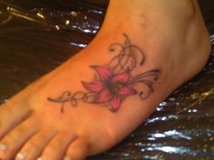 asian lily foot tattoo\ | lily foot tatt – Tattoo Picture at CheckoutMyInk.com