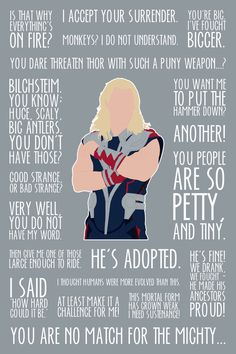 Thor Art Print by MacGuffin Designs