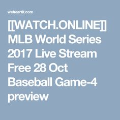watch game 4 world series online free