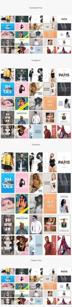 Fashion Social Media Banners  - Social Media - 3