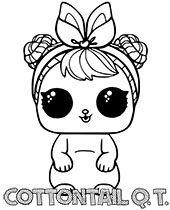 Darmowe kolorowanki L.O.L. Surprise do druku Nyan Cat, Hello Kitty, Kitty Kitty, Minnie Mouse, Disney Characters, Fictional Characters, Lol, Balcony, Fantasy Characters