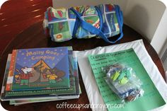 Camping Themed Kids Activities - Coffee Cups and Crayons