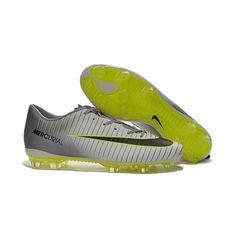 Comprar 2016 Nike Mercurial Superfly XI Botas De Futbol Gris Fluo Baratas