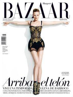 Guinevere van Seenus《Harper's Bazaar》西班牙版2012年9月号