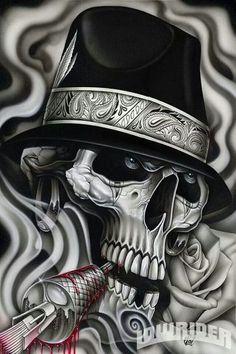 Chicano art Visite: http://freaknation.com.br