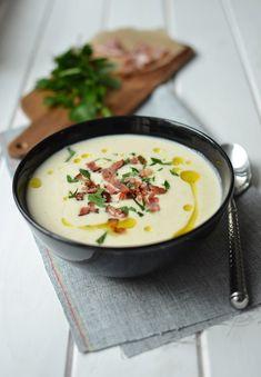 FoodLover: Celerový krém Cheeseburger Chowder, Healthy Life, Food And Drink, Recipes, Soups, Fitness, Diet, Healthy Living