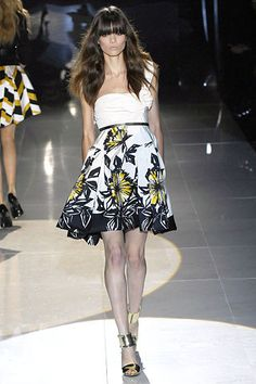 Gucci Spring 2008 Ready-to-Wear Fashion Show - Sheila Marquez