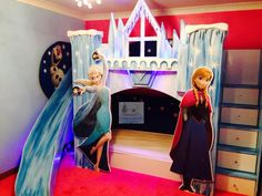 Disney frozen bunk beds