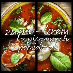 z widokiem na stół | zupa-krem z pieczonych pomidorów