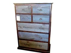 Bayside Vintage Barn Wood Dresser