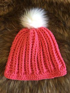 cb65edfff8d Love life gifts · Pink fur pom pom hat