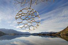 Des Sculptures Land Art évoquent les Cycles de la Nature (10)