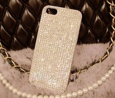 Sparkle Bling crystal Rhinestone iphone 6 6plus 5 5s 5c Samsung case cover clear