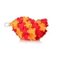 Spa fiori rosso arancio