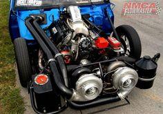 twin turbo flowmaster