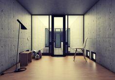 AZUMA HOUSE. TADAO ANDO Modern Japanese Architecture, Japan Architecture, Interior Architecture, Interior Design, Tadao Ando, Casa Azuma, Famous Architects, Facade, Minimalism