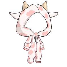 Chibi Girl Drawings, Cute Kawaii Drawings, Anime Drawings Sketches, Cute Eyes Drawing, Drawing Base, Images Murales, Overlays Cute, Chibi Sketch, Drawing Anime Clothes