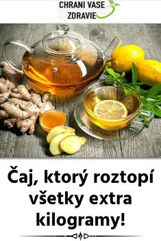 Čaj, ktorý roztopí všetky extra kilogramy! Punch Bowls, Health And Beauty, Cucumber, Detox, Health Fitness, Cooking Recipes, Vegetables, Food, Cooker Recipes