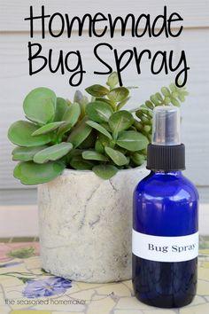 Homemade Bug Spray that Works - The Seasoned Homemaker