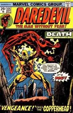 Daredevil # 125 by Gil Kane & Klaus Janson
