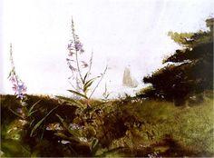 Andrew Wyeth, Under Sail on ArtStack #andrew-wyeth #art