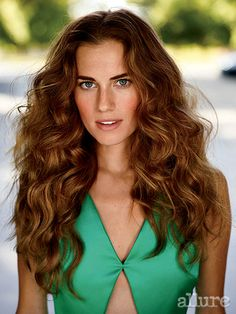 want my hair back | Allison Williams's December 2014 Allure Cover Shoot: Cover Shoot: allure.com